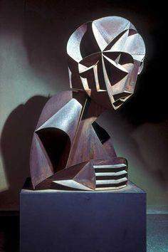 Naum Gabo, Constructivist Head No. 2, 1916
