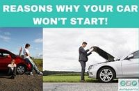 Reasons Why Your Car Won't Start  #car #start #problems #reasons #howto #fix #issue #cars #starting #problem #issues  #reason #replace #part #parts #battery #starter #alternator #ignition #guide #tips #info #advice #usedcar #salvagecars #auto #auction