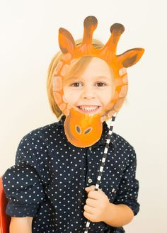This adorable animal mask project is easy, customizable, and fun for kids.