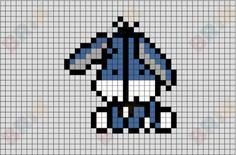 Tiny Cross Stitch, Beaded Cross Stitch, Cross Stitch Patterns, Diy Perler Beads, Perler Bead Art, Pearler Bead Patterns, Perler Patterns, Pixel Art Grid, Easy Pixel Art