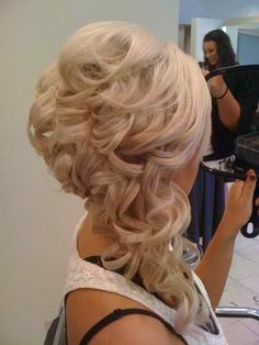 Extensions and side updo!!!... if you girls wanted to do extensions