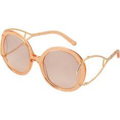 e49ad60fa462 Chloé CE703S Jackson sunglasses ( 380) ❤ liked on Polyvore featuring  accessories