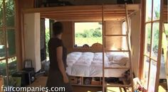 Woman Living in a Shipping Container and Tiny House on Wheels