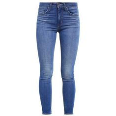 Levi's 721 HIGH RISE SKINNY ($115) ❤ liked on Polyvore featuring jeans, bottoms, pants, super skinny jeans, slim fit jeans, high waisted jeans, denim skinny jeans and high-waisted jeans