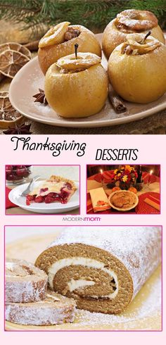 Check out some of our easy to make Thanksgiving dessert recipes.