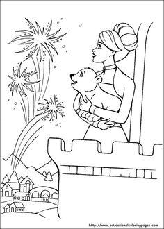 Barbie Magic Pegasus Coloring Pages