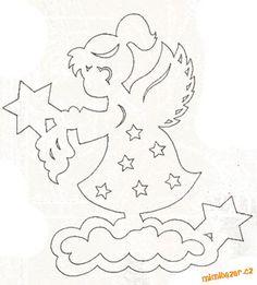 VÁNOČNÍ VYSTŘIHOVÁNKY | Mimibazar.cz Christmas Doodles, Christmas Paper Crafts, Holiday Crafts, Christmas Time, Christmas Decorations, Christmas Ornaments, Scroll Pattern, Scroll Saw Patterns, Kirigami