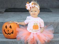 Girls First Birthday Halloween Birthday Outfit