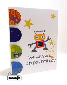 The Alley Way Stamps - Dana Warren - TAWS - Clear Stamps Cards Happy Everything