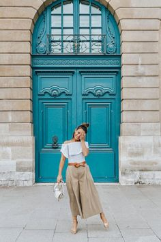 Paris Fashion Week Looks II | Collage Vintage