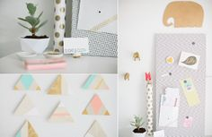 Home office details Inspiring Craft Room And House Tour