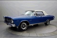 65 Plymouth Satellite (in honor of the B52s). Almost the predecessor to the '66 Barracuda.