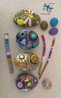 Image result for decorated stones