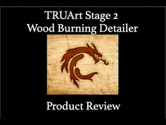 Product Review - TRUArt Stage 2 Single Pen Professional Wood Burning Det... Dont Hurt Me, Product Review, Wood Burning, Artist At Work, Burns, It Hurts, Literature, Stage, About Me Blog