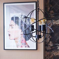 Dalton Black 3-Way Steampunk Ceiling Light | Iconic Lights