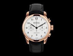Bremont ALT1-C/RG Classic. 18-karat rose gold, ETA-based BE-50AE automatic chronograph movement. $18,250