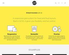 Inspiring Flat website design