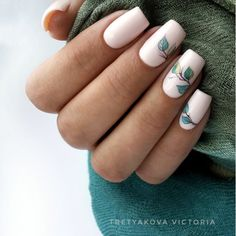 Best Fresh and Cool Leaf Nail Designs - Fashion Gold Gel Nails, Toe Nails, Acrylic Nails, Nail Swag, Toe Nail Designs, Acrylic Nail Designs, Water Color Nails, Nagellack Trends, Dream Nails