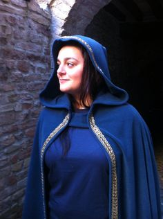 READY TO SHIP-cloak Hooded Fleece Blue Elf Mage cosplay full wheel grv Fantasy larp by DragonShadowLAB on Etsy https://www.etsy.com/listing/288130667/ready-to-ship-cloak-hooded-fleece-blue