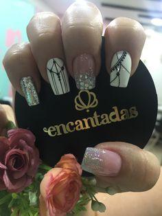 Cute Nails, Pretty Nails, My Nails, Indian Nails, Nail Trends, Simple Nails, Manicure, Nail Designs, Nail Polish