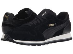 PUMA PUMA - ST RUNNER SD (BLACK/BLACK) MEN'S RUNNING SHOES. #puma #shoes #