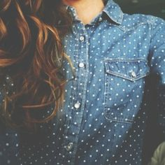 Style trend: chambray happens to be a staple in your closet -it's a teen thing