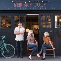 'Walking Country Song' from Red Sky July is taken from their upcoming third studio album, 'The Truth And The Lie'. The song is inspired by the task of having to split up a record collection after a break-up. Record Collection, Country Songs, Tell The Truth, Baby Strollers, Album, Couple Photos, Shopping, Music, Third