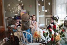 impromptu tea party