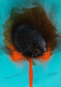 fire and ice Otto Piene, 1978