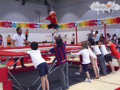 Y claro, ¡también los niños saben volar! Ven a las clases de #Parkour del #CursoDeVerano2016 :D Pide informes al 9688 9113 y 9131 6203 Mail: info@gymnastica.mx