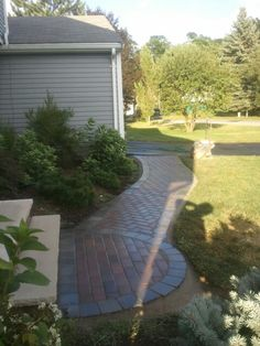 Paver walkway by adam Williamson
