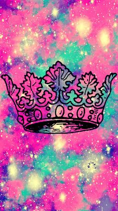 Crown Galaxy iPhone/Android Wallpaper - Best of Wallpapers for Andriod and ios Neon Wallpaper, Cute Wallpaper For Phone, Music Wallpaper, Cute Wallpaper Backgrounds, Colorful Wallpaper, Lock Screen Wallpaper, Cute Wallpapers, Iphone Wallpaper, Galaxy Art