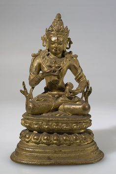 Undated, Tibet, gilt copper alloy, at the American Museum of National History (USA).