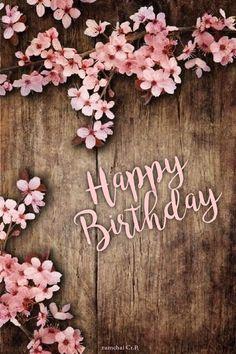 Birthday Wishes Flowers, Happy Birthday Wishes Cards, Happy Birthday Celebration, Happy Birthday Flower, Birthday Blessings, Happy Birthdays, Sister Birthday, Birthday Cards, Birthday Parties