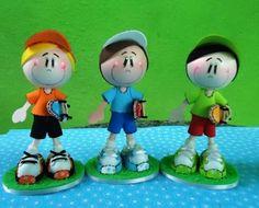 fun foam skateboarder boys dolls...photos