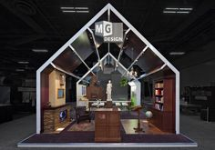 This was MG Design's Mansion of Mystery exhibit at Exhibitor2011, the winner of the  Sizzle Award for integrated marketing. It took the mystery of exhibit design and featured RFiD, Augmented Reality, and QR codes to help give exhibit managers ideas on how to incorporate these technologies in their own trade show booths.  MG Design: Trade Show Exhibits, Events, Environments, Experiences.  www.mgdesign.com