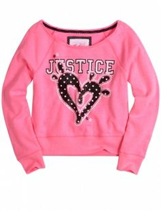 justice for girls dresses | Justice Pullover Sweatshirt | Girls Sweatshirts Clothes | Shop Justice