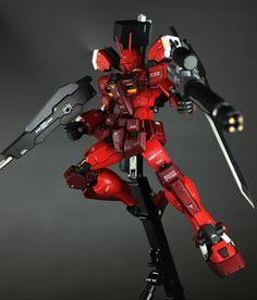 Custom Build: MG 1/100 Gundam Amazing Red Warrior - Gundam Kits Collection News and Reviews