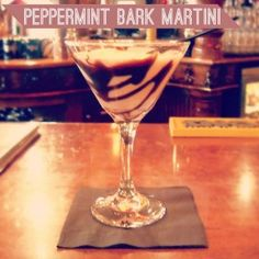 Peppermint Bark Martini