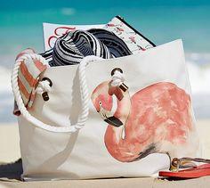 Flamingo Tote Bag | Pottery Barn