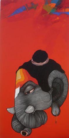 sanjay sable paintings - Google Search