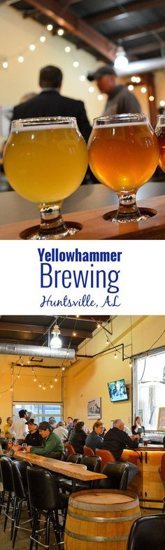 Brewery Snapshot: Yellowhammer Brewery in Huntsville, Alabama – Loved the Belgian and German influenced beers Yellowhammer Brewery is producing. It's a must visit brewery.