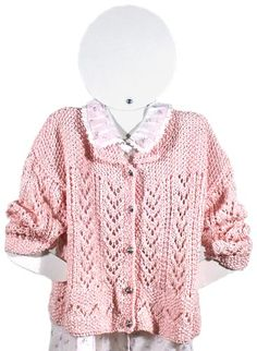 Berroco® Free Pattern: Bethany  Of course they named it after me...it's PINK! ;-)