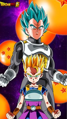 Student and Master, Cabba and Vegeta Dbz, Goku And Vegeta, Son Goku, Dragon Ball Gt, Dragon Ball Z Shirt, Dragon Super, Dragons, Pokemon, Kid Goku