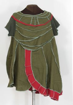 amanitas folkadelia: woodland frolicking tunic by Secret Lentil