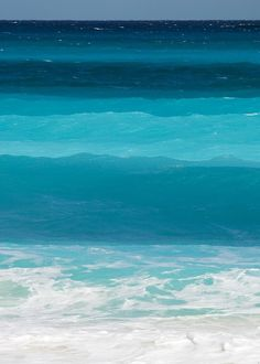 different hues of blue