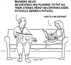Newspapers and Paywalls ;)