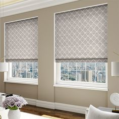 Blinds 2 go - Lyssa Stone Roman Blind Roman Blinds, Curtains With Blinds, Bedroom Blinds, Master Bedroom, Dusty Rose, Lilac, Cottage, House Design, Dining