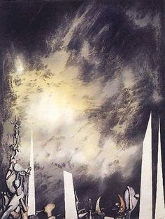 Great thinning, by Yves Tanguy