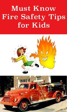 Teach your kids about fire safety with these must know fire protection tips for your family!